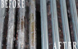Πως να καθαρίσεις εύκολα τη σχάρα της ψησταριάς από τα καμμένα λίπη