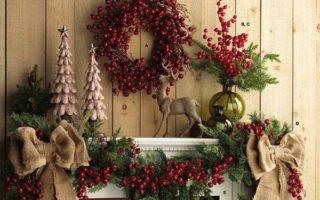 Πανέμορφες Χριστουγεννιατικες ιδέες διακόσμησης για το τζακι σας