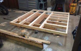 Κατασκευάζοντας ένα κρεβάτι που «αιωρείται»