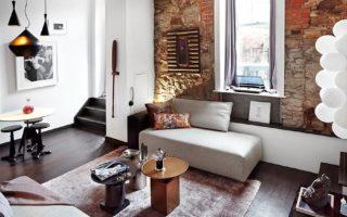 Ιδέες για να διακοσμήσετε το σαλόνι σας με γήινες Αποχρώσεις