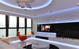 Δες πώς ένα διαμέρισμα γίνεται φουτουριστικό χάρη στο φωτισμό του!