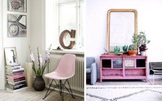 Μη φοβάστε το ροζ χρώμα στην διακόσμηση