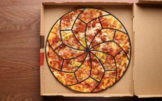 Ο επιστημονικά τέλειος τρόπος για να κοπεί μία πίτσα