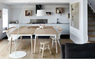 Νέα τάση: Τραπεζαρία με δύο τραπέζια