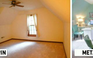 Όταν Ξεκίνησε να Ανακαινίζει το Παλιό της Δωμάτιο δεν Πίστευε ότι θα Μεταμορφώνονταν σε ένα Τόσο Υπέροχο Χώρο!