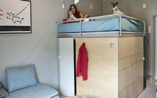 Οικογενειακή ζωή σε 25 τ.μ.: Δείτε το απίστευτο διαμέρισμα!
