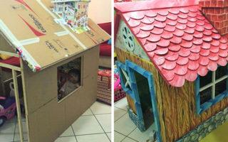 Ένας παππούς έφτιαξε το πιο παραμυθένιο σπίτι με τα χεράκια του για την εγγονή του!