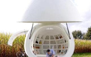 Κινητό γραφείο σε σχήμα αυγού Σχεδίασαν Βέλγοι αρχιτέκτονες!