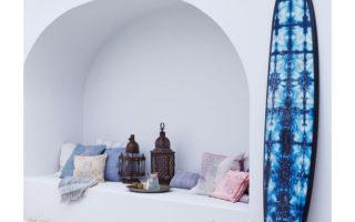 9 ιδέες στη διακόσμηση με μπλε χρώμα