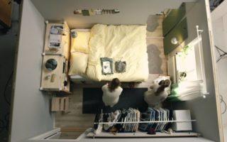 Η ΙΚΕΑ μας παρουσιάζει πως να κάνουμε ένα μικρο δωμάτιο λειτουργικό