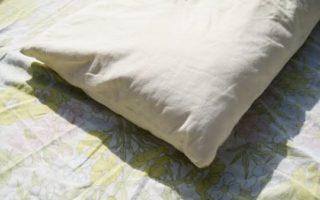 Γιατί πρέπει να καθαρίζεις τα μαξιλάρια του καναπέ με το φως του ήλιου;