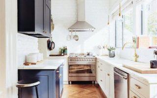 Ιδέες για στενές κουζίνες